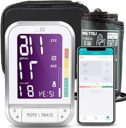1Byone Blood Pressure Monitor Upper Arm With Large Cuff, Blu