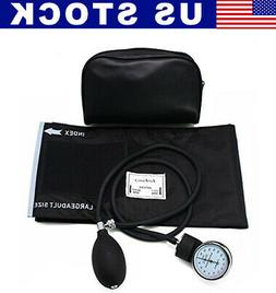 Aneroid Sphygmomanometer Arm Manual Blood Pressure Adult Lar