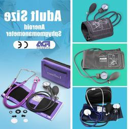 Stethoscope Aneroid Sphygmomanometer Manual Blood Pressure B