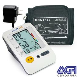 Arm Blood Pressure Monitor Machine Gauge Sphygmomanometer La