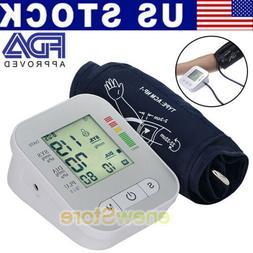 Arm Blood Pressure Monitor Machine Gauge Sphygmomanometer La