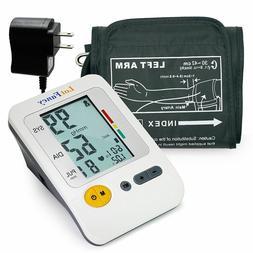 Arm High Blood Pressure Monitor BP Cuff Gauge Machine Heart
