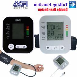 Auto Digital Wrist/Arm Blood Pressure Monitor Large BP Cuff