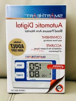 SmartHeart Automatic Arm Digital Blood Pressure Monitor, 01-