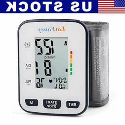 Automatic Blood Pressure Monitor BP Cuff Heart Rate Machine