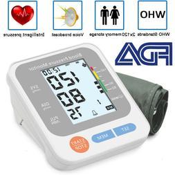 Automatic Arm Blood Pressure Monitor Digital BP Cuff Pulse H