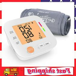 automatic blood pressure monitor upper arm large