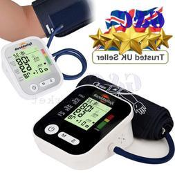 Automatic Digital LCD Arm Blood Pressure Monitor BP Cuff Gau