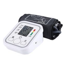 Automatic Digital Upper Arm Blood Pressure Cuff Monitor Puls