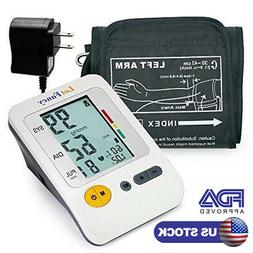 Automatic Digital Upper Arm Blood Pressure Monitor BP Cuff M
