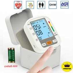 Automatic Digital Wrist Blood Pressure Monitor BP Cuff Machi