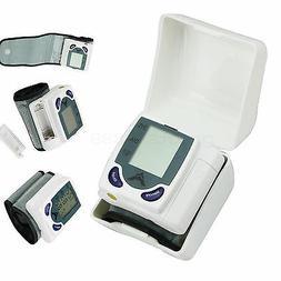 Automatic Digital Wrist Blood Pressure Monitor Cuff Large LC
