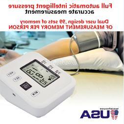 Automatic LCD Digital Upper Arm / Wrist Blood Pressure Monit