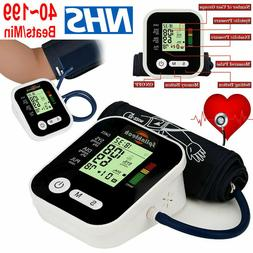 Automatic Smart Blood Pressure Monitor Upper Arm Digital BP