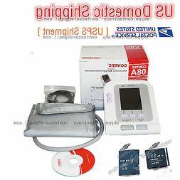 Automatic Upper Arm Blood Pressure Monitor BP Cuff Gauge Met