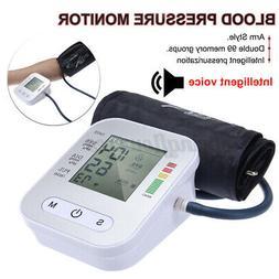 Automatic Upper Arm Blood Pressure Monitor Digital BP Cuff m