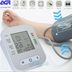 Automatic Upper Arm Blood Pressure Monitor Voice Reading BP