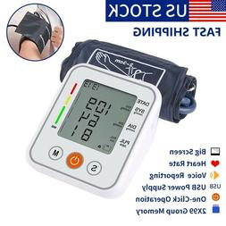 Automatic Voice Reporting Digital Arm Blood Pressure Monitor