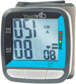 Care Touch Automatic Wrist Blood Pressure Cuff Monitor - Cla