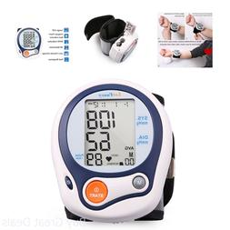 automatic wrist high low blood pressure cuff