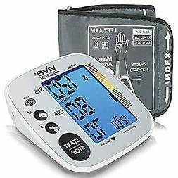 Blood Pressure Cuff - Heart Rate Monitor Machine - Automatic