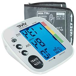 Vive Precision Blood Pressure Machine - Heart Rate Monitor -