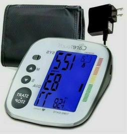 Care Touch Blood Pressure Monitor AC Adapter Digital Arm Cuf