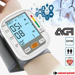 Blood Pressure Monitor Automatic Digital Wrist BP Cuff Machi