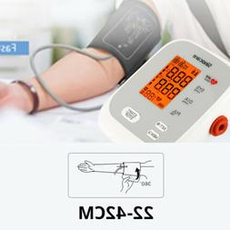 Automatic Upper Arm Blood Pressure Monitor Pulse Meter BP Ma