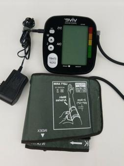 Blood Pressure Monitor by Vive Precision Black Digital Upper
