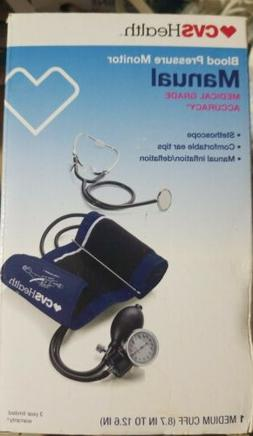 CVS Pharmacy Blood Pressure Monitor MANUAL  #800232-Brand Ne