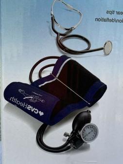 BLOOD PRESSURE MONITOR CVS MANUAL ARM MEDICAL GRADE ACCURACY