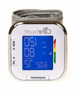 CARETOUCH Automatic Wrist high low Blood Pressure Cuff Monit