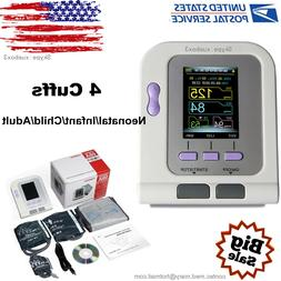 CONTEC-08A Digital Blood Pressure Monitor Upper Arm BP Cuffs