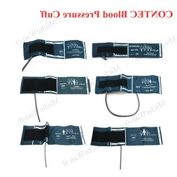 CONTEC 6 Size Reusable cuffs for blood pressure NIBP and pat
