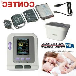 CONTEC08A Digital Blood Pressure Monitor NIBP machine,Adult/