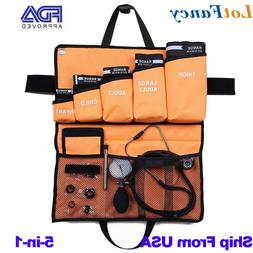 Aneroid Sphygmomanometer Stethoscope Adult Blood Pressure Mo