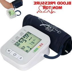Digital Automatic Blood Pressure Monitor Upper Arm BP Machin