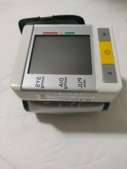 Digital Automatic Wrist Cuff Blood Pressure Monitor LCD Puls