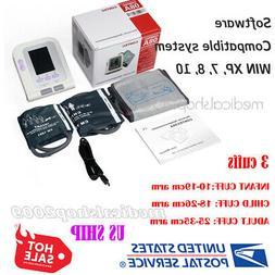 CONTEC Digital Blood pressure monitor Contec08A with 3 cuff