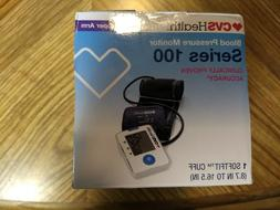 CVS Health Series 100 Blood Pressure Monitor with SoftFit Cu