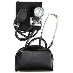HealthSmart Manual Home Blood Pressure Monitor Kit with Larg