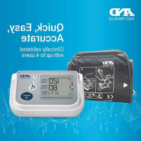 a and d medical blood pressure monitor