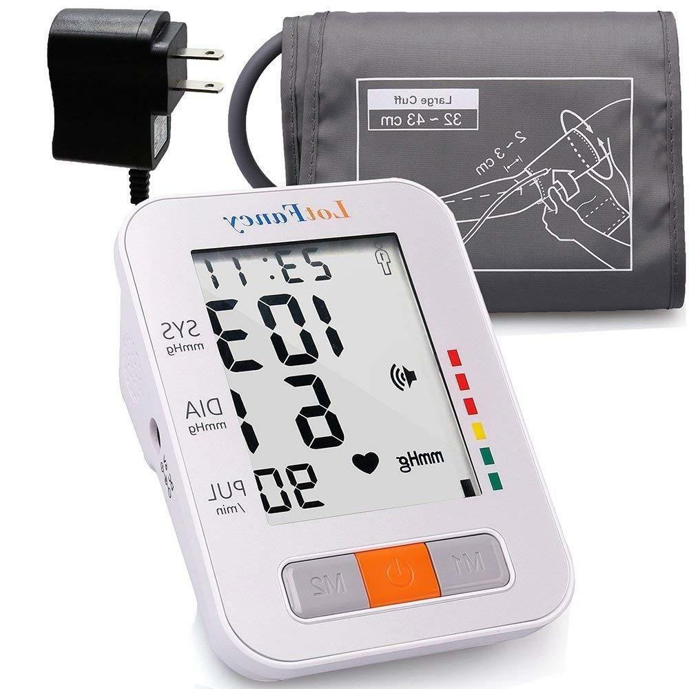 arm high blood pressure monitor large bp