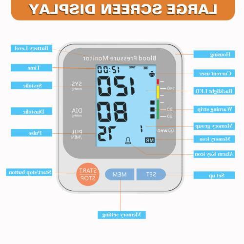 Automatic Arm Blood Monitor Digital
