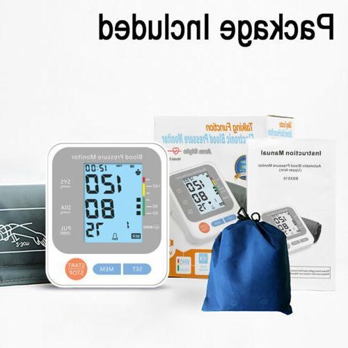 Automatic Arm Pressure Monitor Digital Pulse