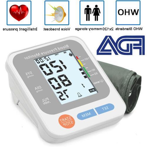 automatic arm blood pressure monitor digital bp