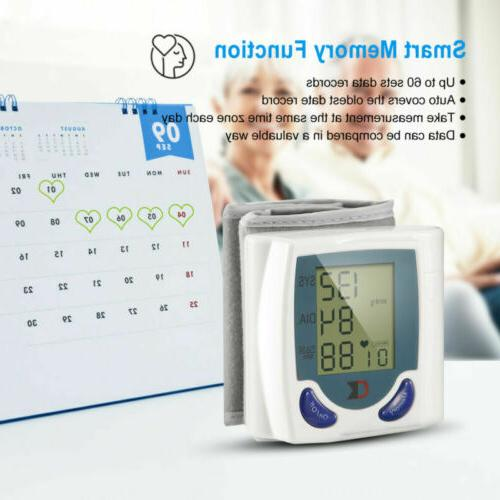 Automatic Monitor Digital BP Wrist Home
