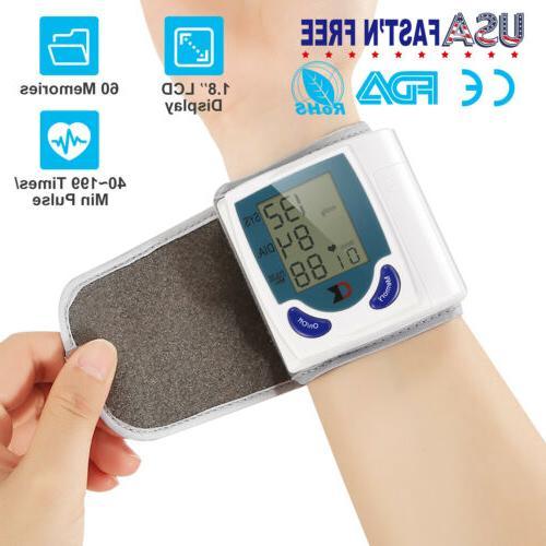 automatic blood pressure monitor digital bp wrist