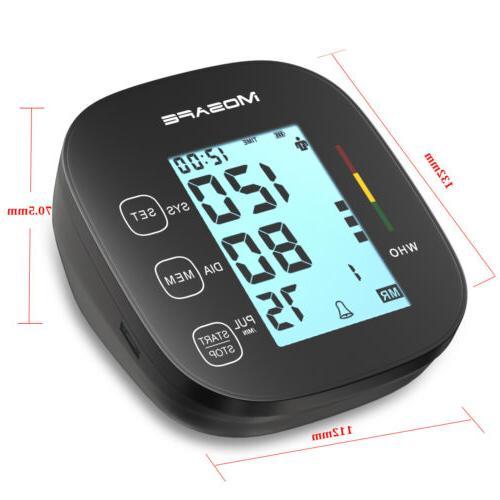 Automatic Digital Arm Pressure Monitor Heart Machine Meter Cuff